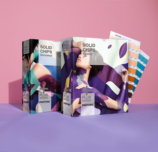 Pantone's new covers with body paint by Riina Laine & Saara Sarvas. Photo credit: Pantone.com