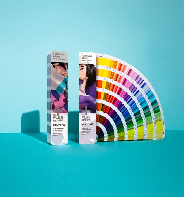 Pantone's new formula guide covers with body paint by Riina Laine & Saara Sarvas. Photo credit: Pantone.com