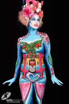 #MyLifeIsArt - Body painting by the World Champion 2014 Riina Laine