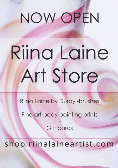Riina Laine Art Store now open