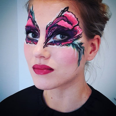 Face painting by Riina Laine