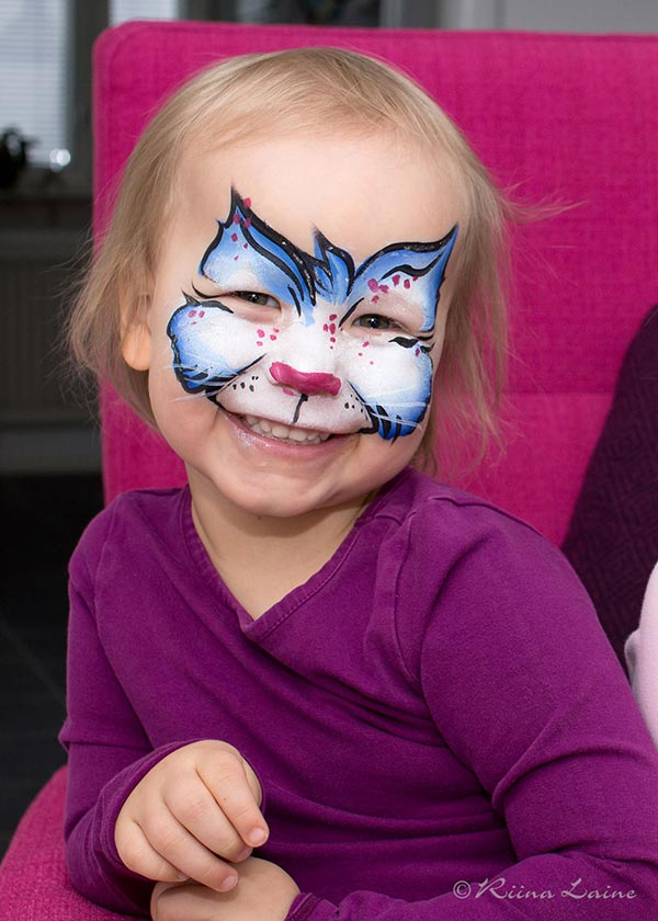 Face painting & photo: Riina Laine